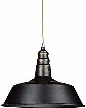 Relaxdays Industrial Lamp Black Lampshade -