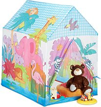 Relaxdays Jungle Animals Play Tent for your