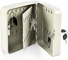 Relaxdays Key Cabinet, beige, 16 x 20 x 8 cm
