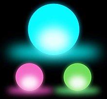 Relaxdays LED Ball Mood Lighting, LED Night Light,