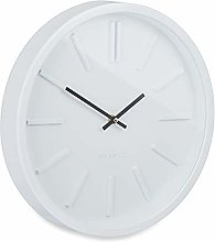 Relaxdays Modern Analogue Wall Clock for Kitchen,