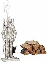 Relaxdays Modern Cast Iron Fire Irons. 4-Piece