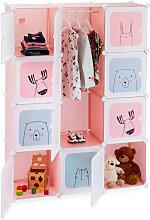 Relaxdays Modular Children's Shelf, Girls, Fun