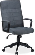 Relaxdays Office Desk Chair, Height-Adjustable