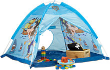 Relaxdays Pirate Play Tent, For Boys Age 3 and Up,