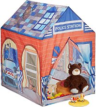 Relaxdays Police Station Play Tent for Children,