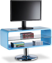 Relaxdays Retro TV Stand, Narrow Wooden Lowboard