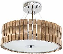 Relaxdays RINC Ceiling Light Large Light Wood with