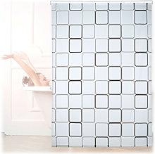 Relaxdays Shower Curtain Roller Blind,