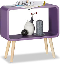Relaxdays Small Freestanding Shelf HxWxD: 50x53x20