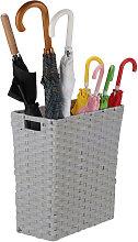 Relaxdays Storage Basket, Niche Waste Bin with