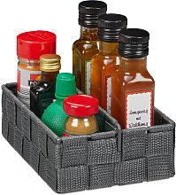 Relaxdays Storage Basket with Adjustable Divider