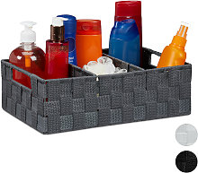 Relaxdays Storage Basket with Compartments,