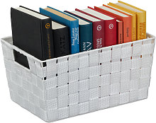 Relaxdays Storage Basket with Handles, Versatile