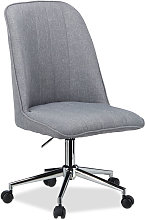 Relaxdays Swivel Office Chair, Designer Executive