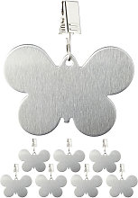 Relaxdays Tablecloth Weights, Pack of 8 Clips,