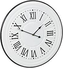 Relaxdays Vintage Wall Clock, Roman Numerals,