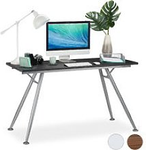 Relaxdays Writing Desk, Modern Design for