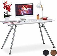 Relaxdays Writing Desk, Modern Design for Kids'