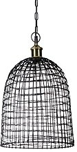 Relaxdays Wrought Iron Cage Grid Modern Design