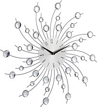 Relaxdays XL Shiny Wall Clock, Large Kitchen