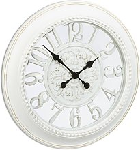 Relaxdays XL Wall Clock Vintage Style, Quiet