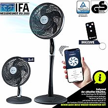 RelaxxNow 2in1 Pedestal Fan Extra Quiet| Smart