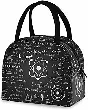 RELEESSS Insulated Lunch Bag Funny Math Formula