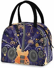 RELEESSS Insulated Lunch Bag Musical Electric