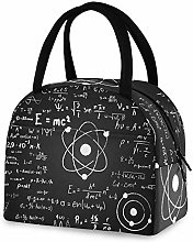 RELEESSS Insulated Lunch Bag Physical Math