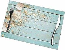 remmber me Seashells on Wooden Nautical Border