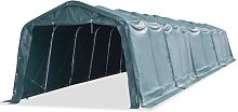 Removable Livestock Tent PVC 550 g/m² Dark Green