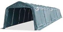 Removable Livestock Tent PVC 550 g/m2 Dark Green