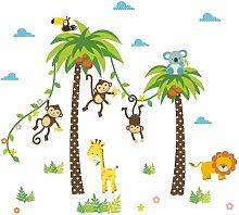 Removable Wall Stickers Nursery Nursery Decor for Birthday Party in Gift Wrap SOEKAVIA