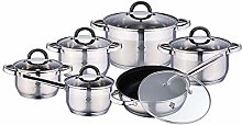 Renberg Alexander Cookware Set with Lid, Stainless