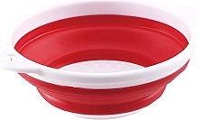 Renberg Folding Basket Red, 27 cm