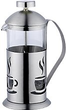 Renberg Smog Coffee and Tea Plunger, Stainless