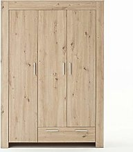 rendteam smart living Ahoi Baby Room Wardrobe 130
