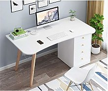 RENEO Computer Desk,Dressing Table,Desktop PC