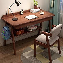RENEO Computer Desk,Laptop Desk,Wood Computer