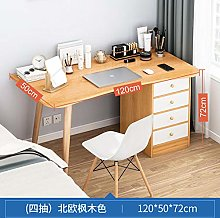 RENEO Computer Desk,PC Desk,Cupboard and