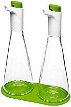 RenGard Oil and Vinegar Drizzler Set - Leak Proof