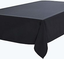 RENMEI Black Table Cloth Decorative Oxford