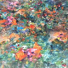 Renoir Artisan Super Soft Green and Orange