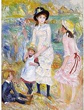 Renoir Children On The Seashore Guernsey Large