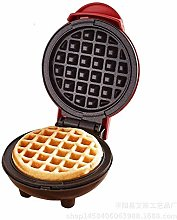 Renquen Mini Waffle Iron Machine Electric Cake