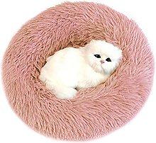 RENSHUYU Dog Bed Fluffy, Portable Warm Soft