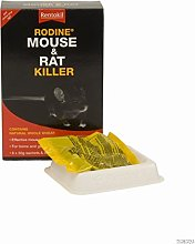 Rentokil 5x PSR97 Rodine Mouse And Rat Killer 300g