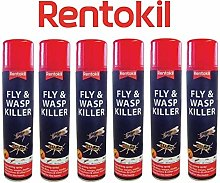 Rentokil Fast Acting PSF126 Fly,Wasp & Mosquito