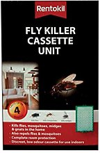 Rentokil FFL10 Fly Killer Cassette, Black